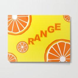 Vitamin C Metal Print