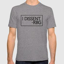 I Dissent, Ruth Bader Ginsburg, RBG, notorious RGB T-shirt
