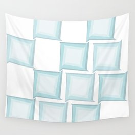 Spiral Squares Wall Tapestry