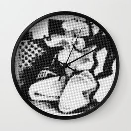 Figure Mono 1 Wall Clock