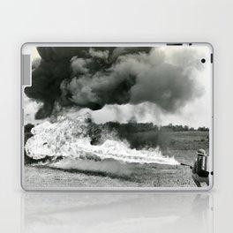 Flame Throwing Troops Laptop & iPad Skin