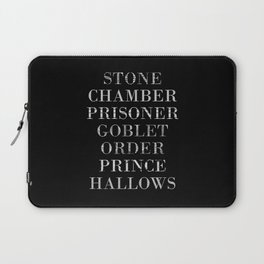Titles with a Twist Laptop Sleeve