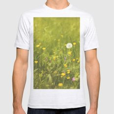 Make a wish Mens Fitted Tee Ash Grey SMALL