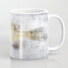 Grunge Fish Coffee Mug