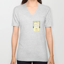 Space Colonies Are Overdue Unisex V-Neck