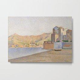 The Town Beach, Collioure, opus 165 Metal Print