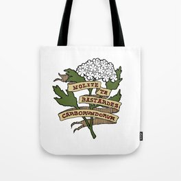 Handmaid's Tale - NOLITE TE BASTARDES CARBORUNDORUM (color) Tote Bag