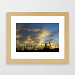 Camargue Sunrise  Framed Art Print