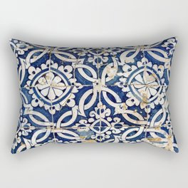 Portuguese glazed tiles Rectangular Pillow