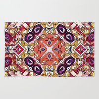 morocco Area & Throw Rugs featuring Berry Morocco by Glanoramay