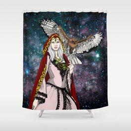 Nature Goddess Shower Curtain