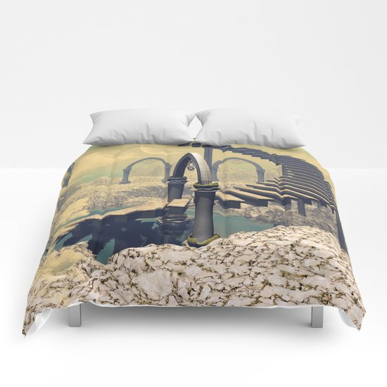The treppe in the sky Comforters