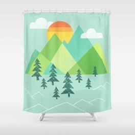 Patchwork Pass Shower Curtain