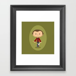 All work and no play Framed Art Print