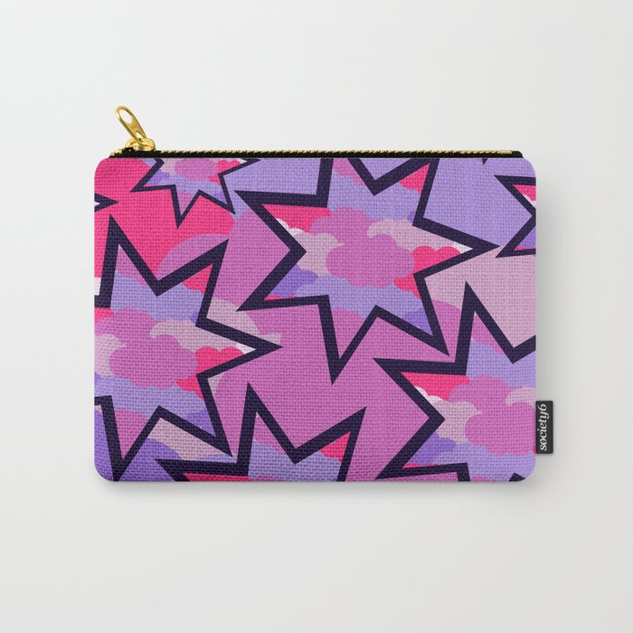 Stars in the clouds Carry-All Pouch