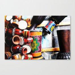 Musical Instrument Canvas Print