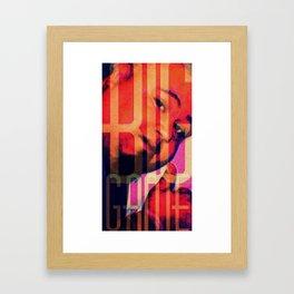 BigGame Rip Framed Art Print