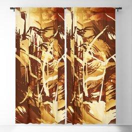 Afrikanische Krieger Blackout Curtain