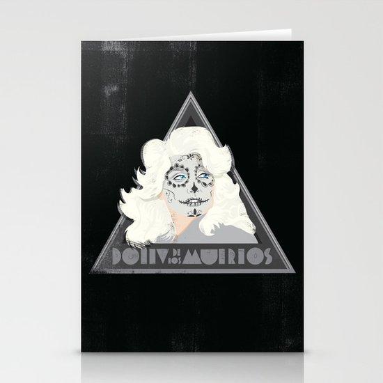 Dolly de los Muertos Stationery Cards