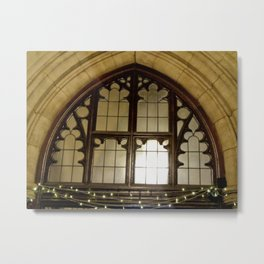 St. Mary Abbots Cloister Detail Metal Print
