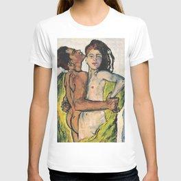"""Koloman (Kolo) Moser """"Lovers"""" T-shirt"""