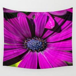 Purple Osteospermum Flower Wall Tapestry
