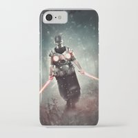 dark side iPhone & iPod Cases featuring Dark Side by jandrorevert