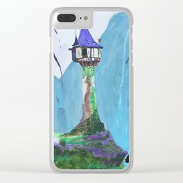Repunzel's Tower Clear iPhone Case