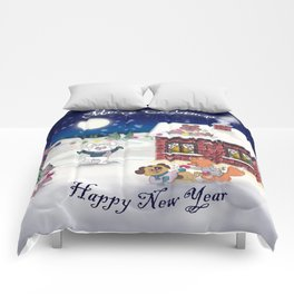 The happy Xmas'Group Comforters