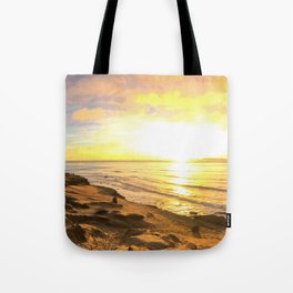 Edge of the Pacific Tote Bag