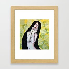 A bocca aperta Framed Art Print