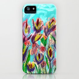 Florals for Spring...Groundbreaking.  iPhone Case