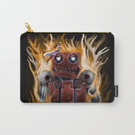 The Lady and The Robot Carry-All Pouch