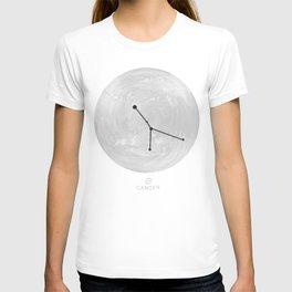 Moon Astrology - Zodiac Cancer T-shirt