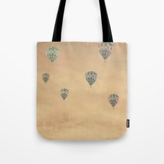 Balloons over the Empire Tote Bag