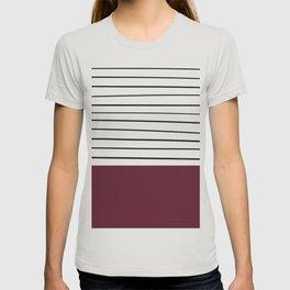 MARINERAS MAROON T-shirt