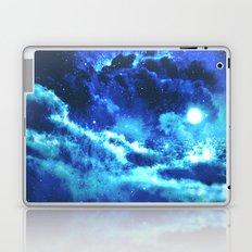 Blue on Moon Laptop & iPad Skin