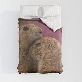 Loving Prairie Dogs Comforters