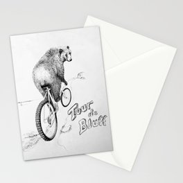 Tour de Bluff Poster Stationery Cards