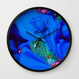The Art of Reaction/// Pink Wall Clock