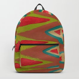 Southwest Diamond Rug Backpack