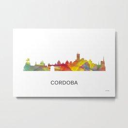 Cordoba, Argentina skyline WB1 Metal Print