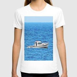 Little Boat on a Big Sea T-shirt