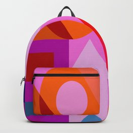 I love you valentine purple red Backpack