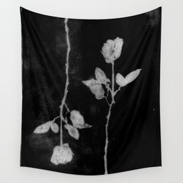 black roses  Wall Tapestry