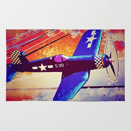 F4U Corsair Pop Art Rug