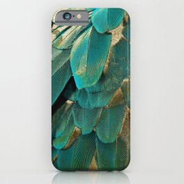 Feather Glitter iPhone Case