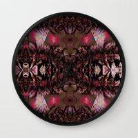 africa Wall Clocks featuring AFRICA  by SaRai