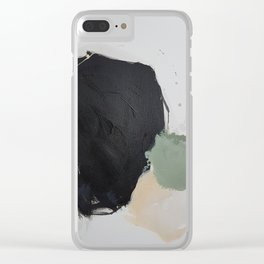 Coal Seam II Clear iPhone Case