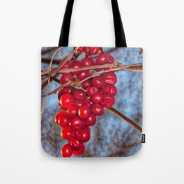 Grapes Schisandra autumn Tote Bag